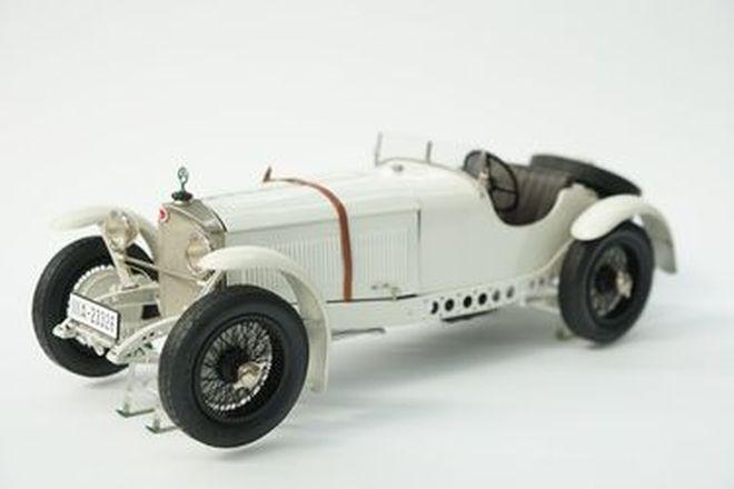 Model Car - Fulgurex Mercedes-Benz SSK No. 11981 (Scale 1:12) - From the 'Ian Cummins Collection'