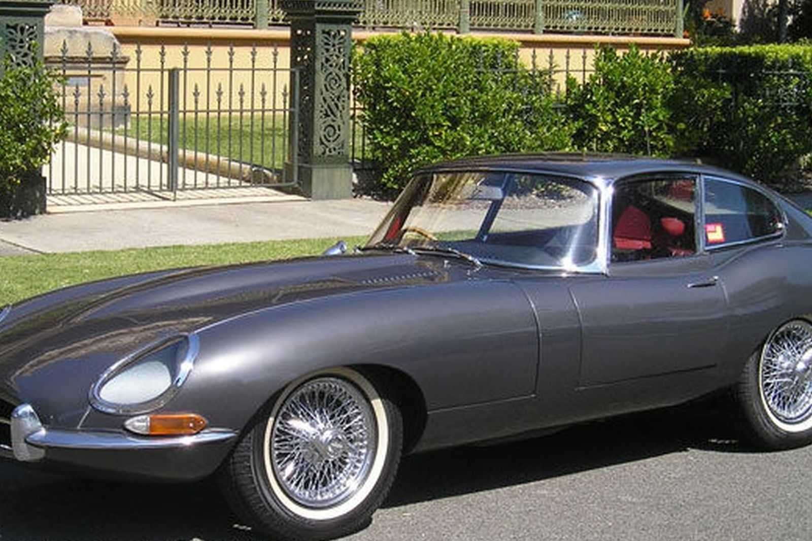 sold jaguar e type 4 2 series 1 fixed head coupe auctions. Black Bedroom Furniture Sets. Home Design Ideas