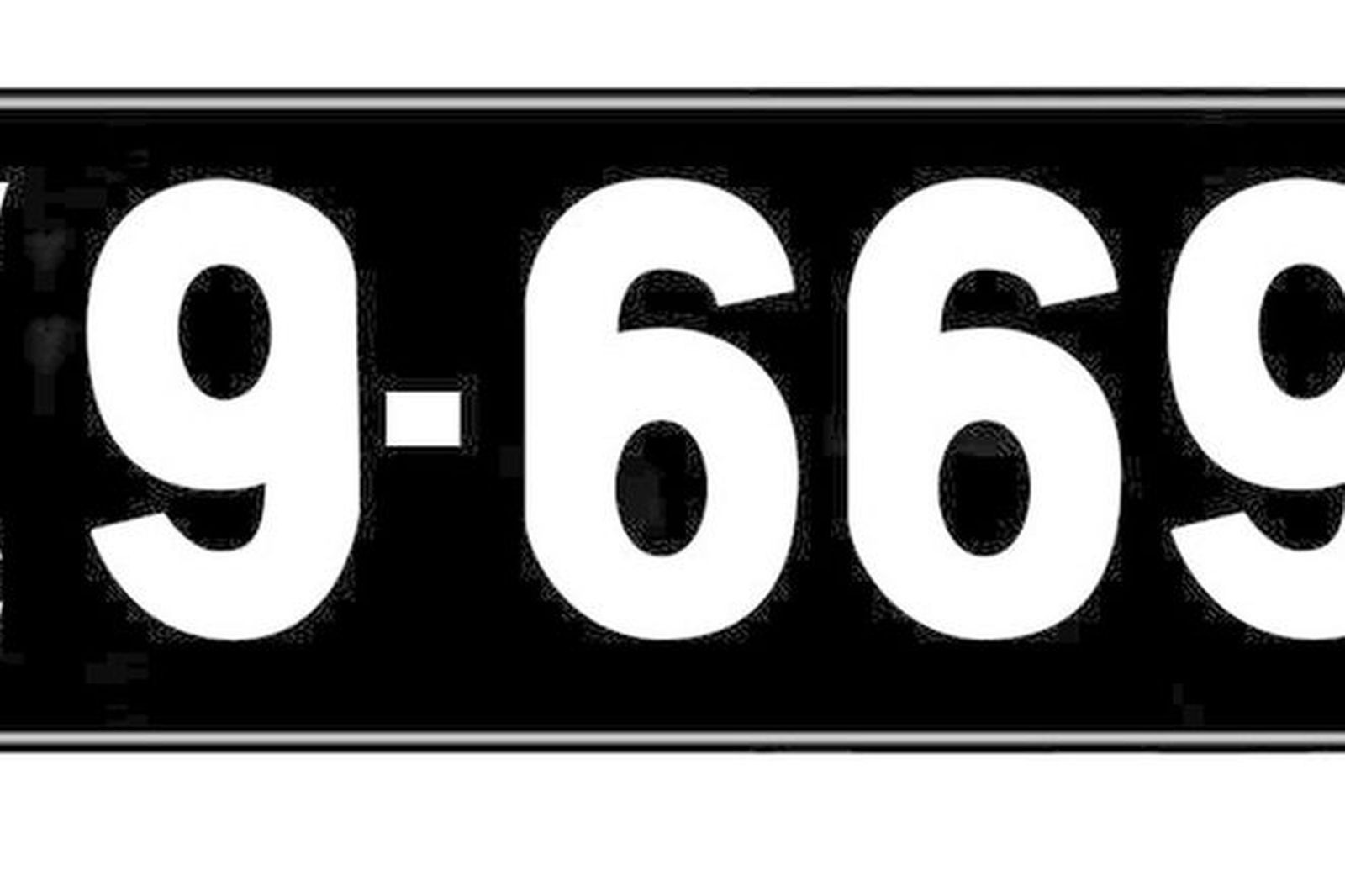how to read victorian number plates