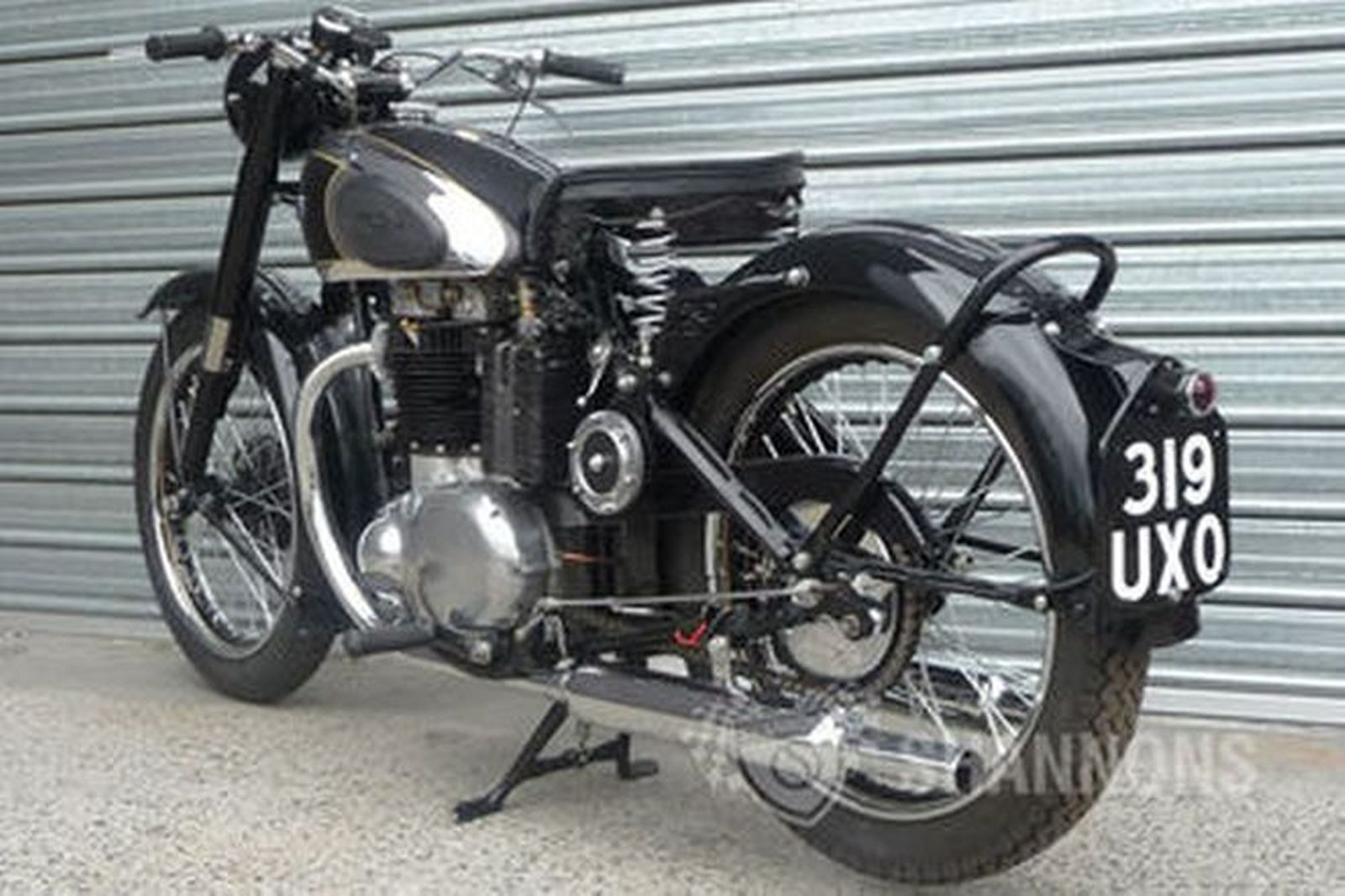 Sold bsa a7 500cc solo motorcycle auctions lot 28 for Motor vehicle open on saturday