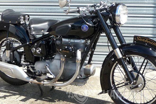 Sunbeam S8 500cc Motorcycle