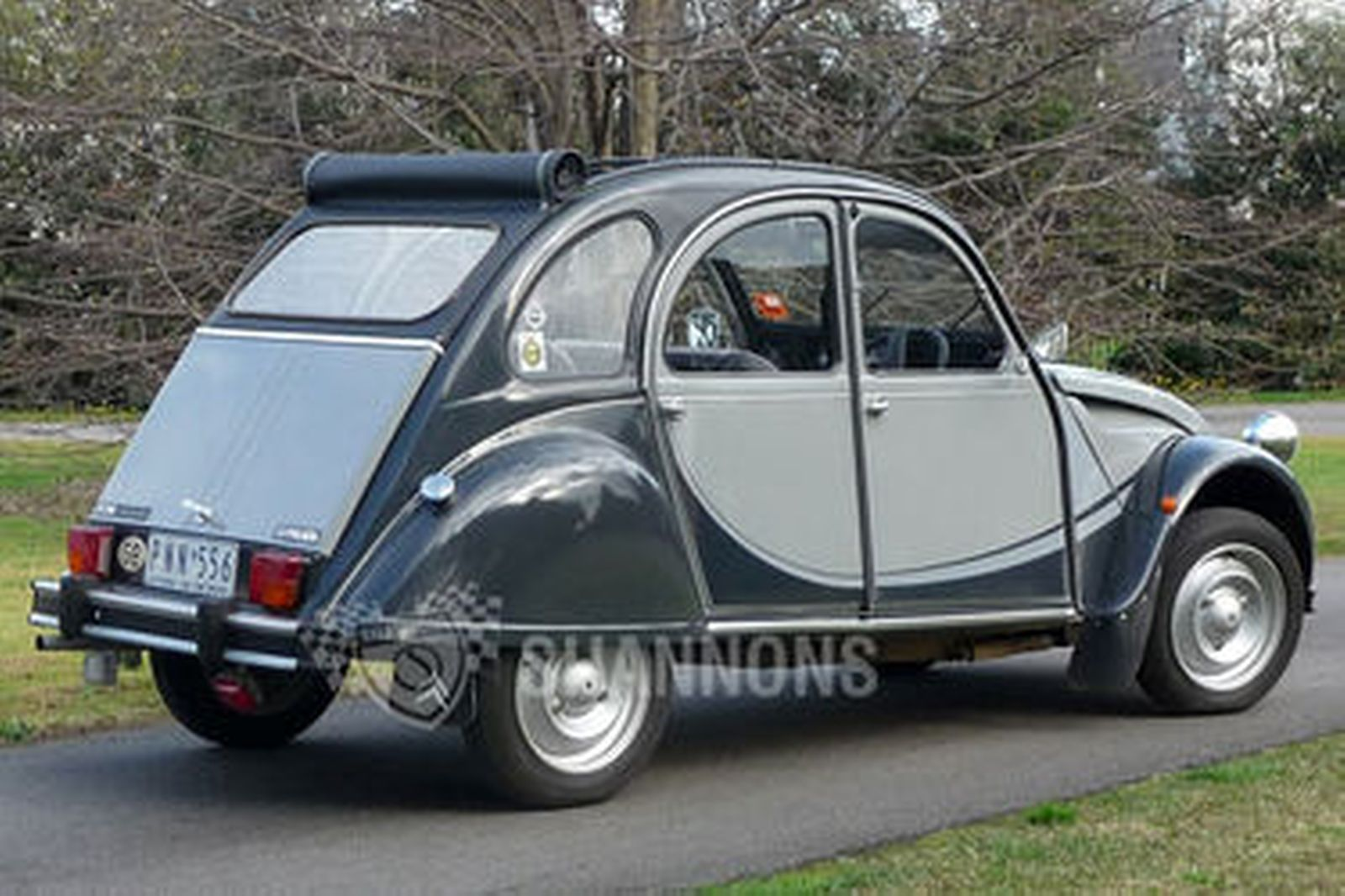 sold  citroen 2cv6 charleston sedan auctions