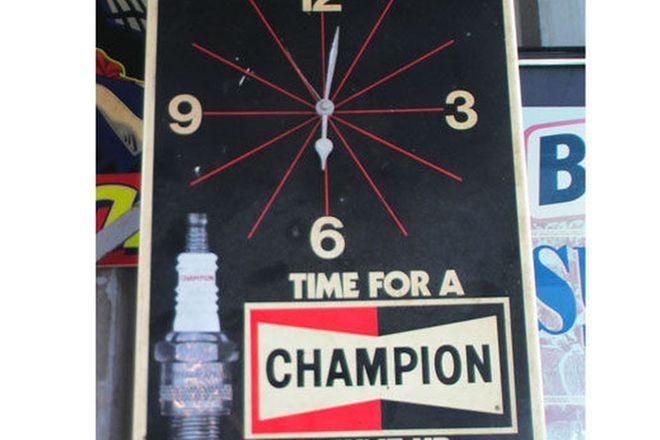 Clock - Champion Spark Plug