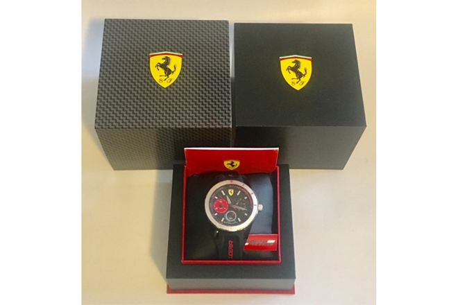 Genuine Scuderia Ferrari Watch