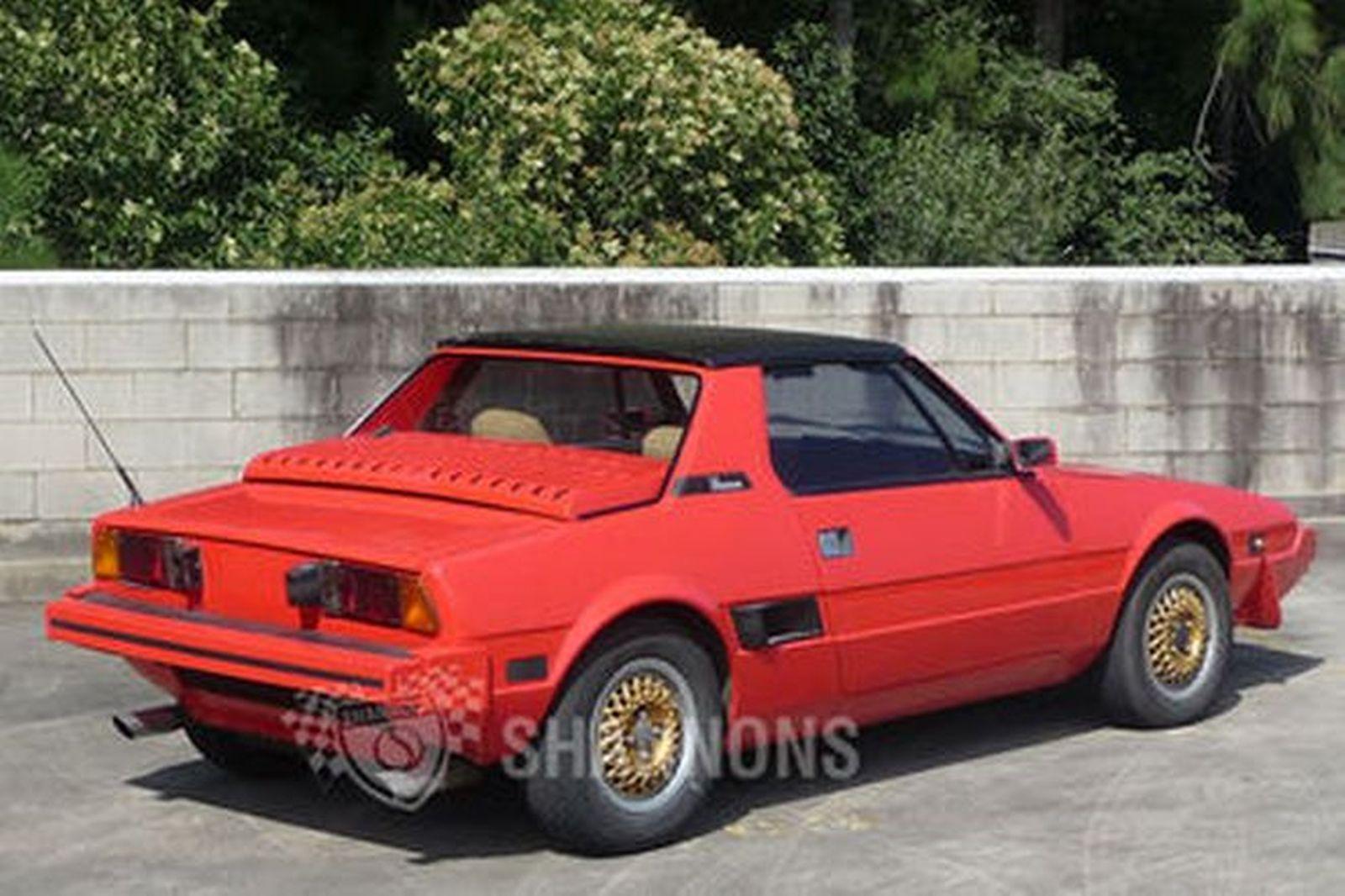 Fiat  X 1/9 'Targa' Coupe