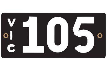 Victorian Heritage Plate '105'
