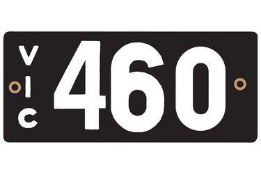 Victorian Heritage Plate '460'