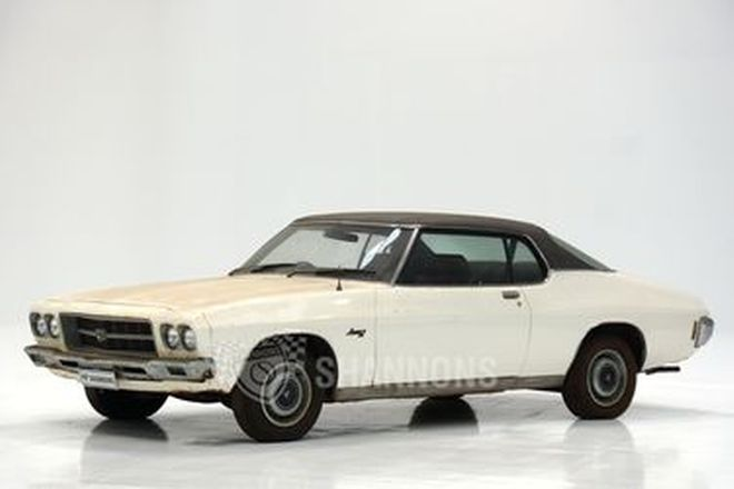 Holden HQ LS Monaro Coupe (Barn Find)