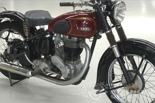 Ariel VH500 (OHV) Motorcycle