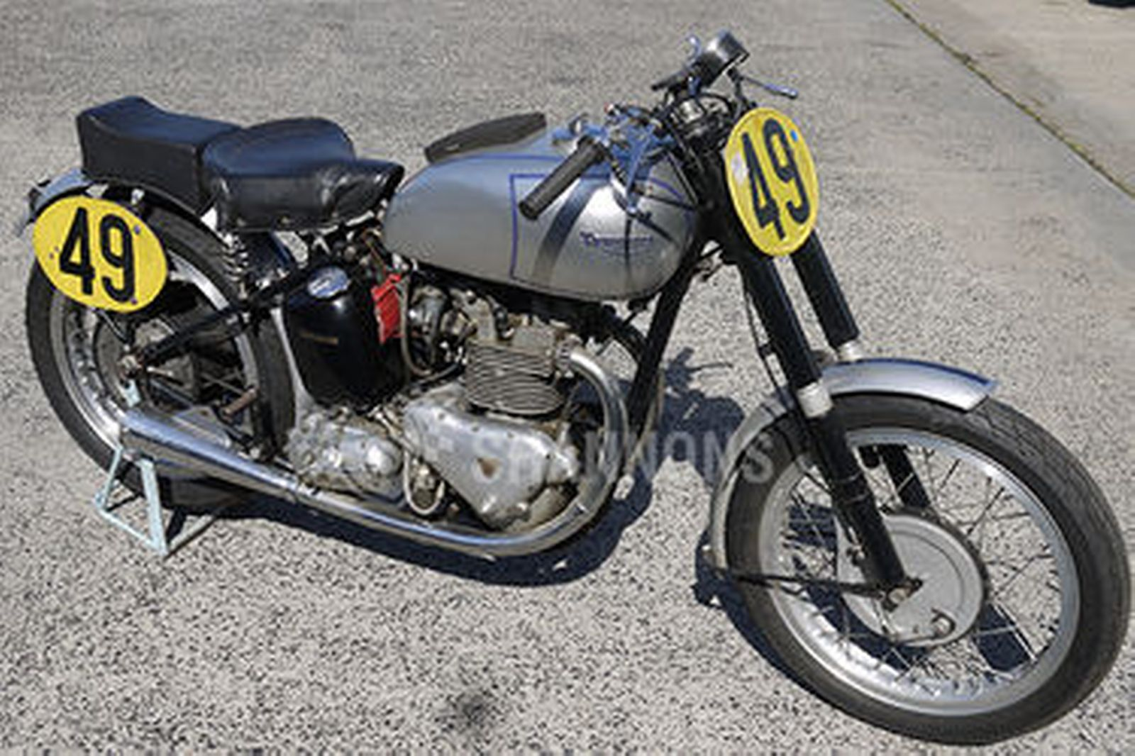 Triumph Tiger 'GP Replica' 500cc Motorcycle