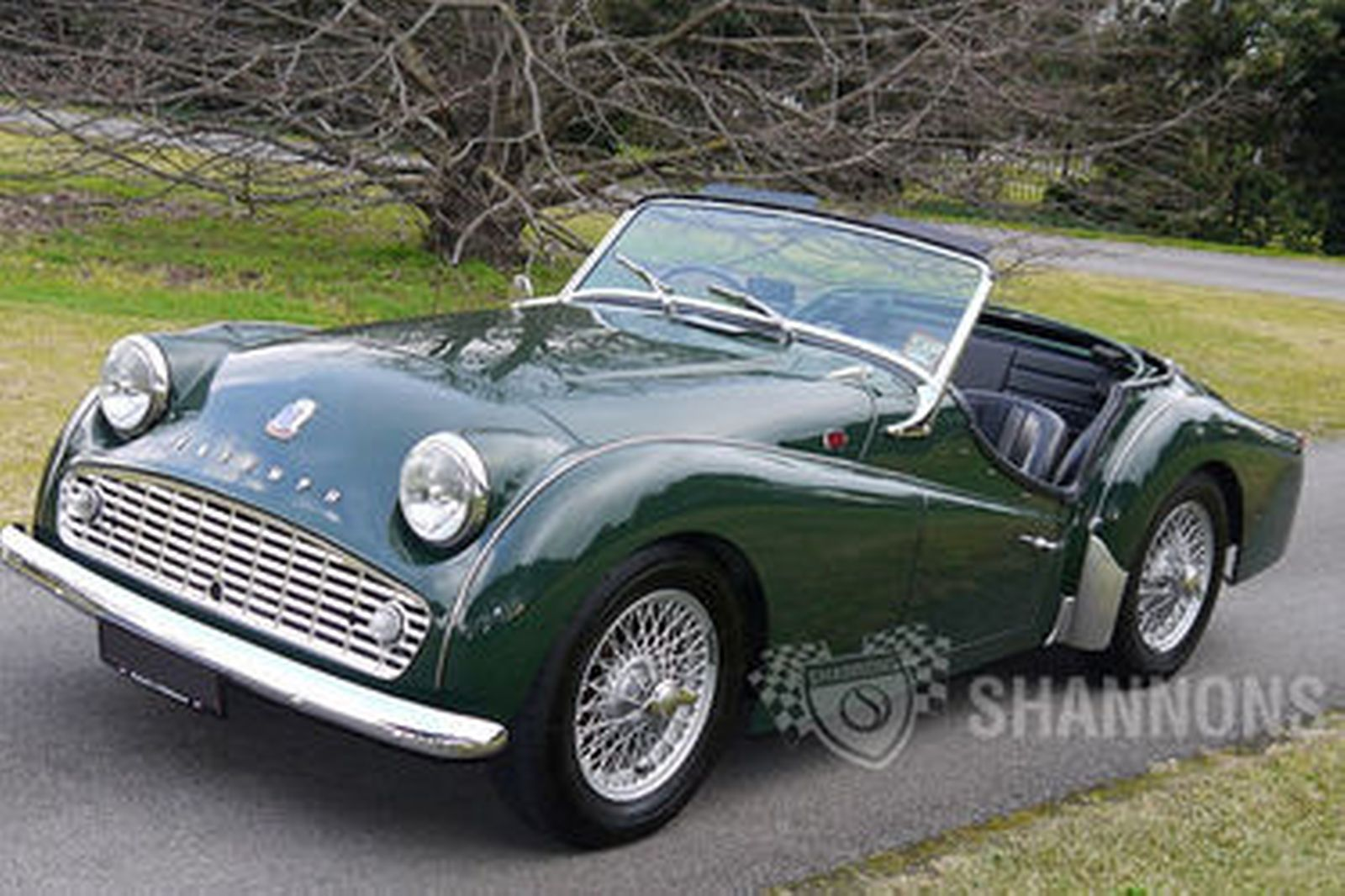triumph tr3 roadster auctions lot 11 shannons. Black Bedroom Furniture Sets. Home Design Ideas