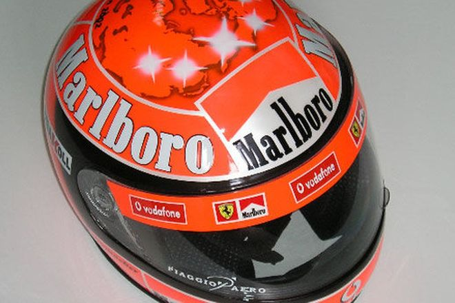 Helmet - Michael Schumacher replica