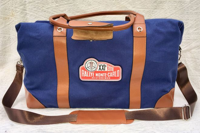 Genuine Monte Carlo Rallye Entrants 'Kit Bag'