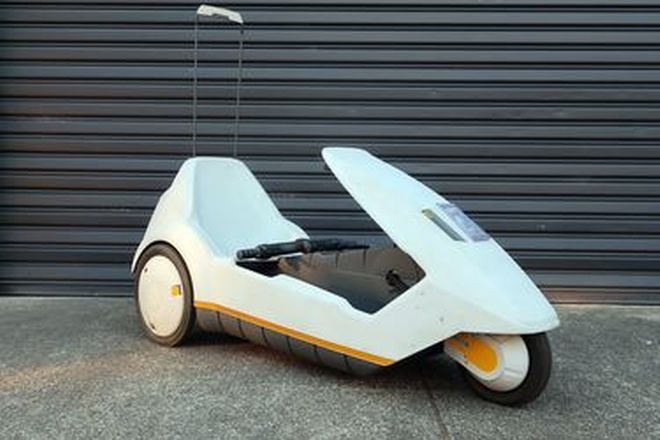 Sinclair C5 Electric Car