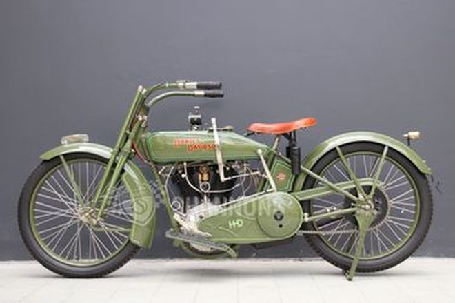 Harley-Davidson Model J 1000cc Motorcycle