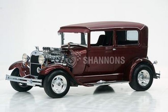 Ford Model A 'Hot Rod' Tudor (RHD)