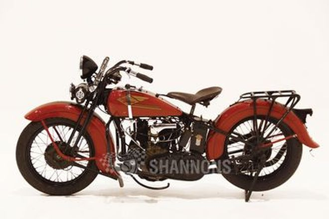 Harley-Davidson 34R 750cc V-Twin Motorcycle