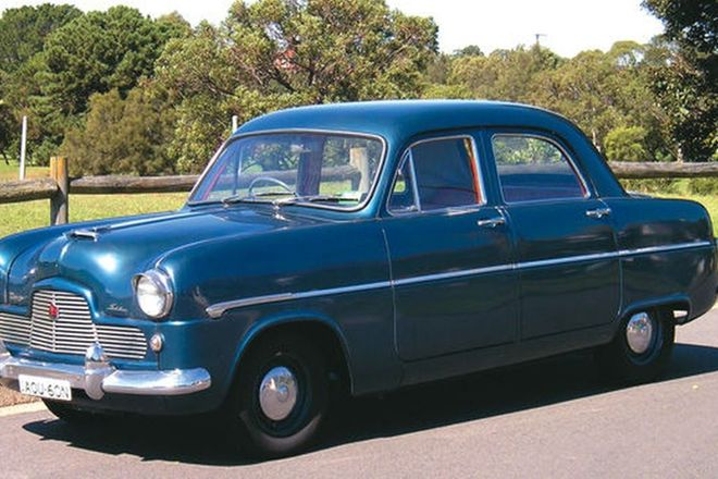Ford Zephyr Mk I Sedan