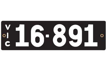 Victorian Heritage Plate '16.891'