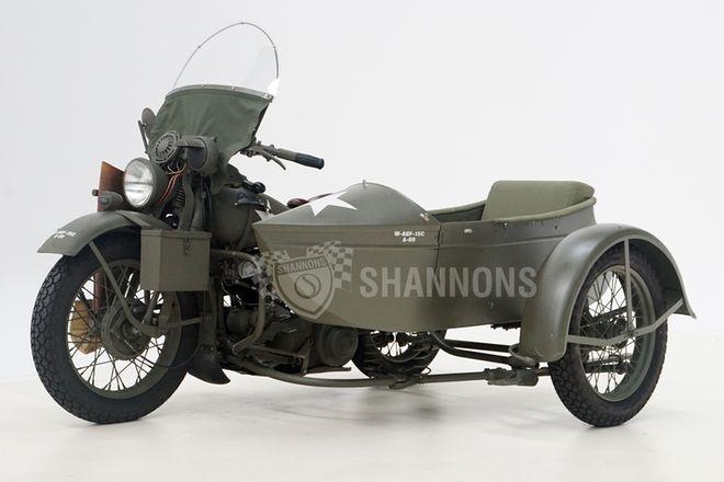 Harley Davidson WLA 750 W-Sidecar
