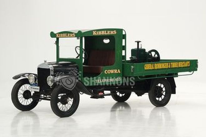 Ford Model-T Truck with Stationary Engine