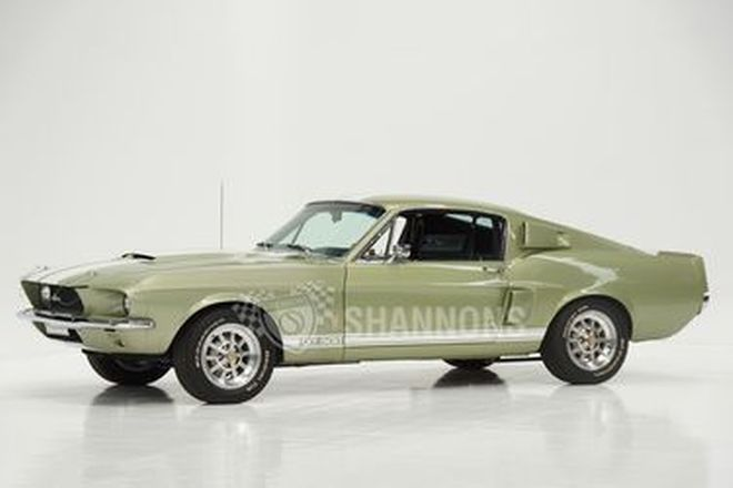 Shelby Mustang GT500 Fastback (LHD) - From the 'Ian Cummins Collection'