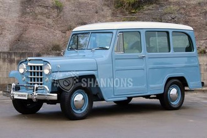 Willys Overland 4x2 Station Wagon (RHD)