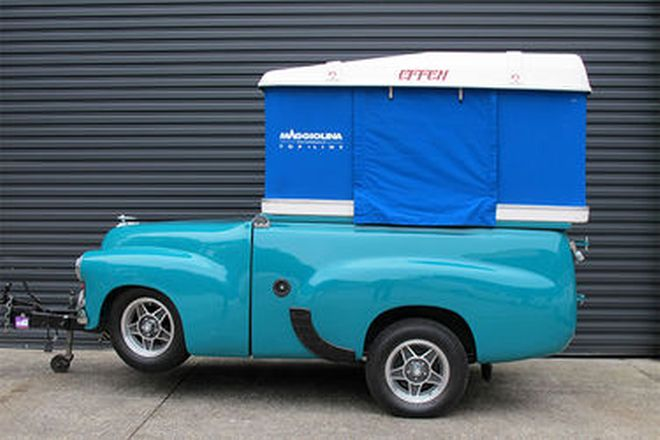 Campervan/Trailer - Based on a FX Holden Utility (All Metal Body)