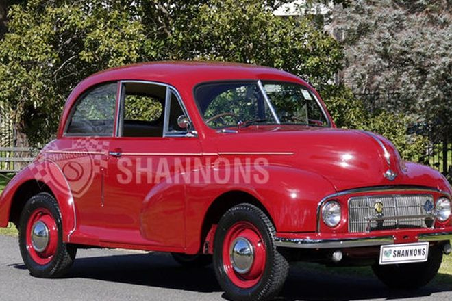 Morris Minor Series MM 'Low Light' 2-Door Saloon