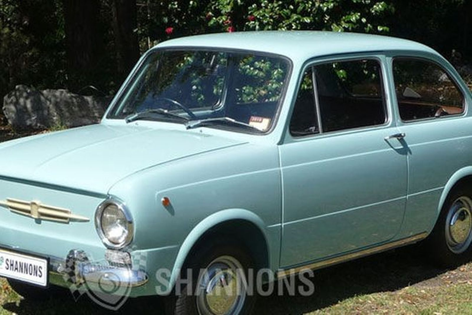 sold fiat 850 2 door sedan auctions lot 2 shannons. Black Bedroom Furniture Sets. Home Design Ideas