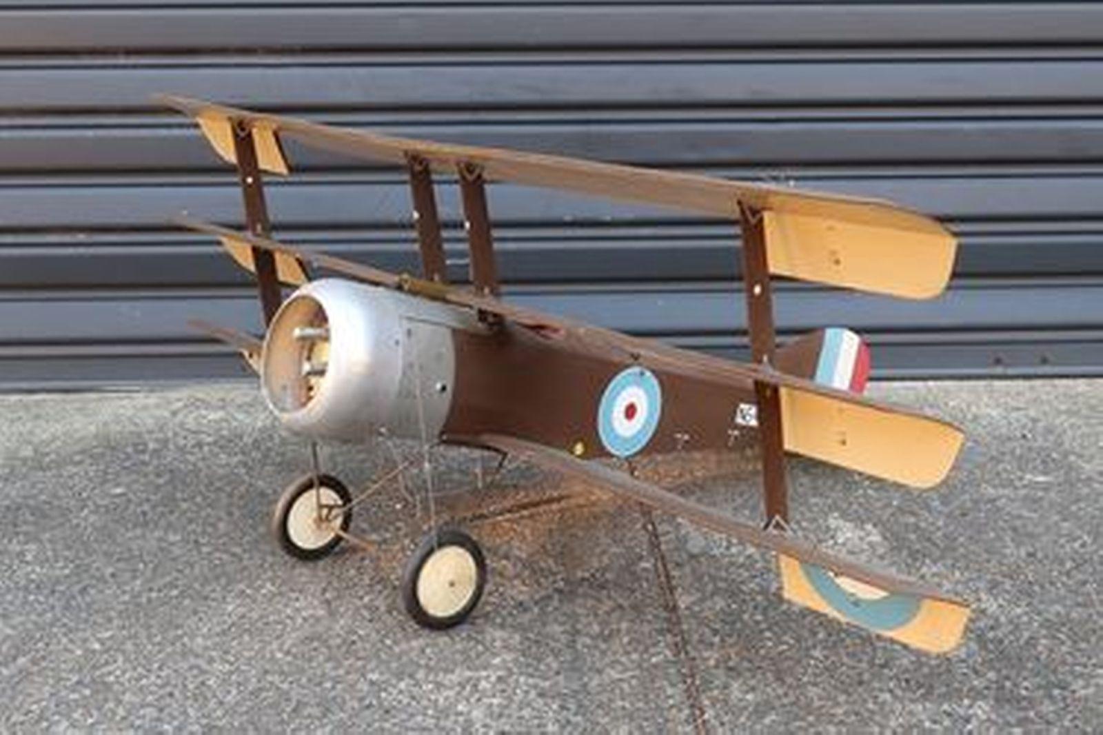 Model Plane - Sopwith Triplane (1.3m wingspan)