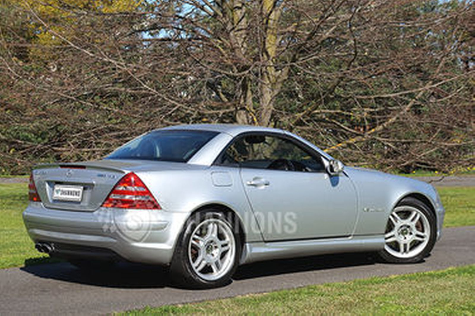Mercedes benz slk32 amg convertible