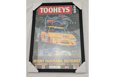 'Tooheys 1000' Bathurst 1995 Framed Poster (528W x 743H)