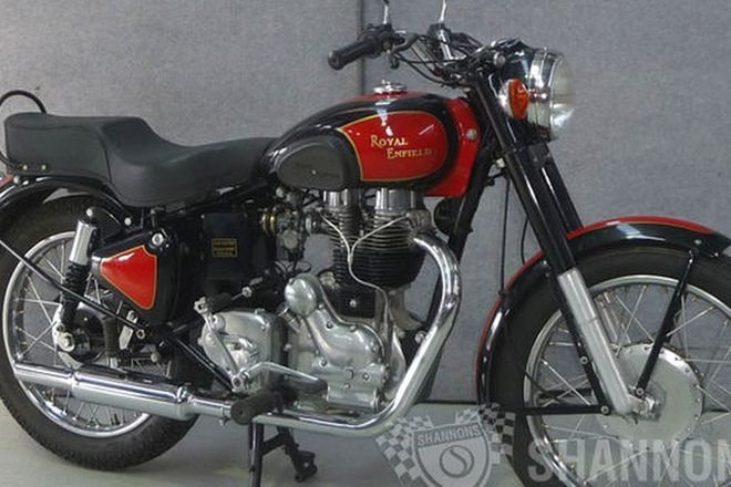 Royal Enfield 500cc Motorcycle