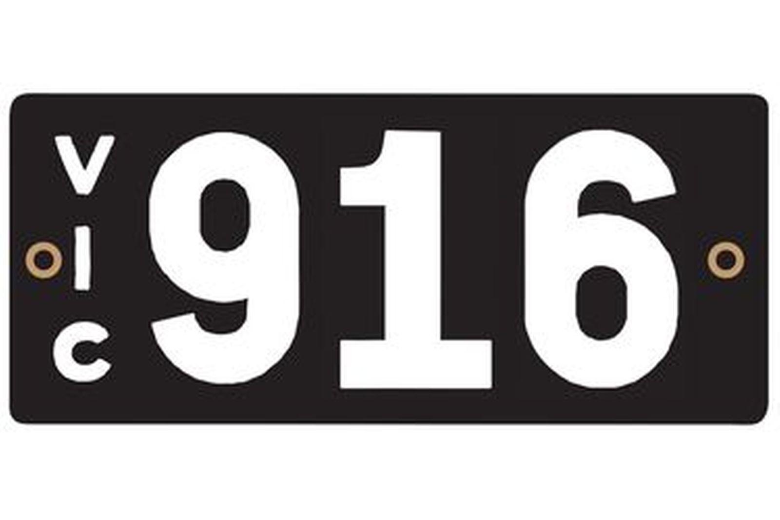 Victorian Heritage Plate '916'