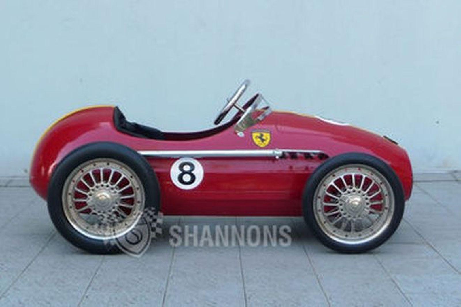 Sold Metal Pedal Car Ferrari Tribute Approx 120cm Long Auctions Lot O Shannons