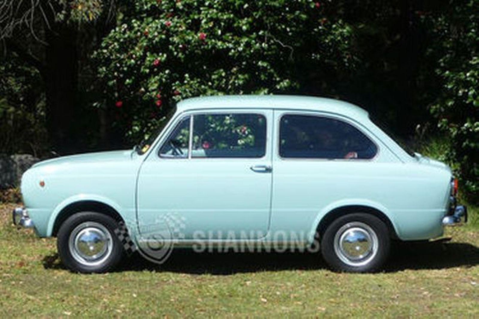 Sold Fiat 850 2 Door Sedan Auctions Lot 2 Shannons
