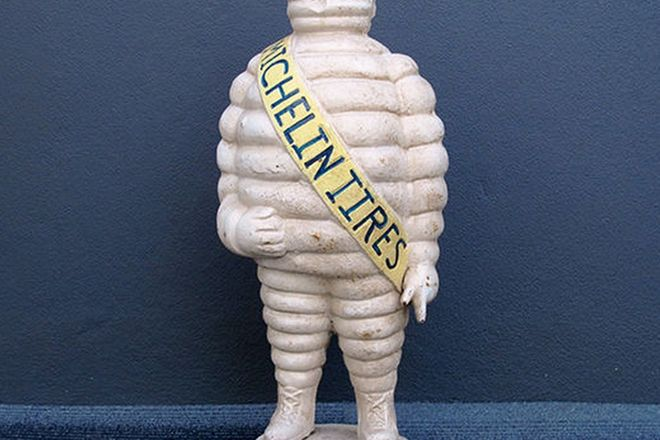 Figure - Cast Iron Michelin Man (Reproduction - 56cm tall)