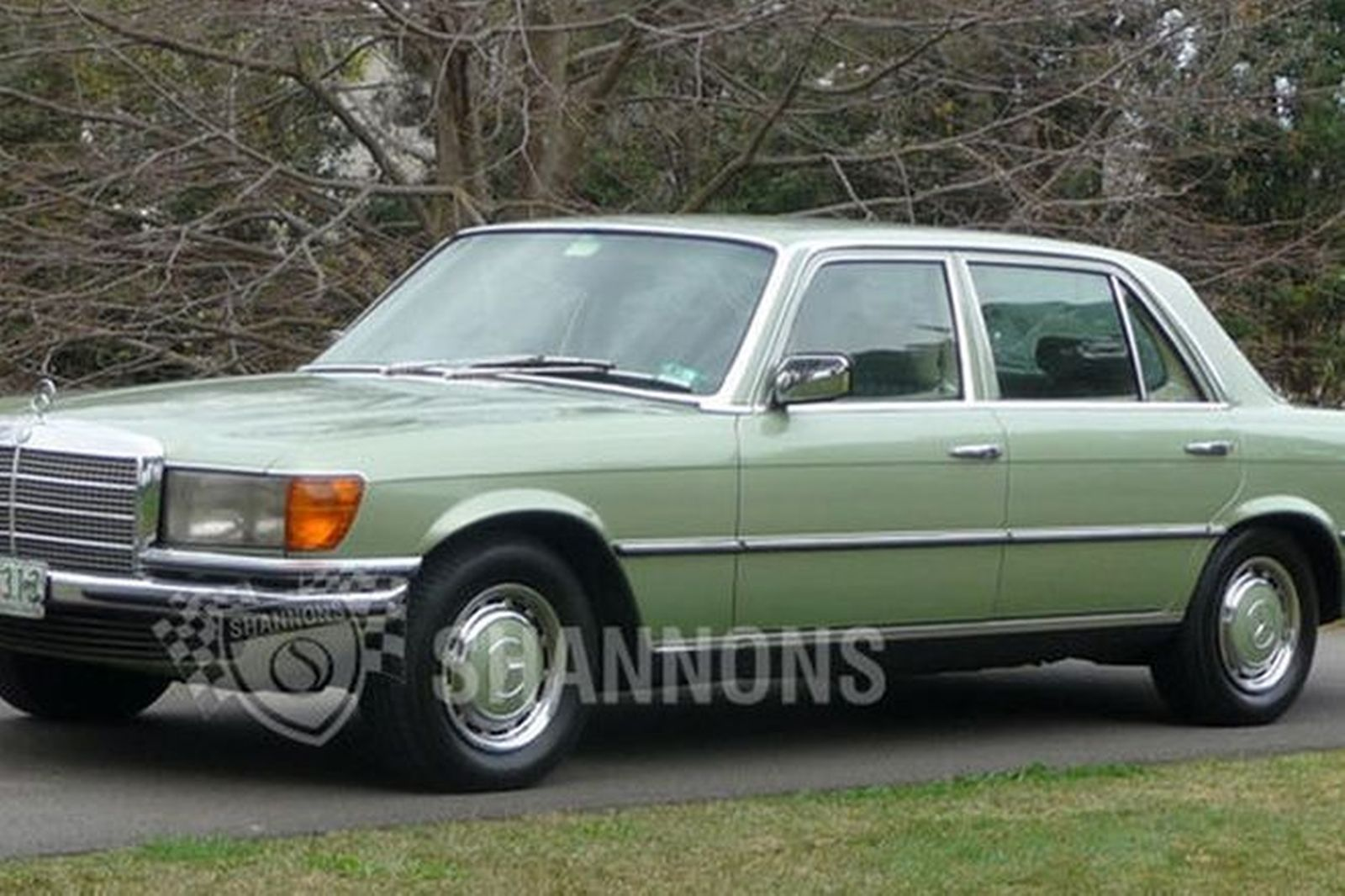 Sold mercedes benz 280sel saloon auctions lot 1 shannons for Mercedes benz auction