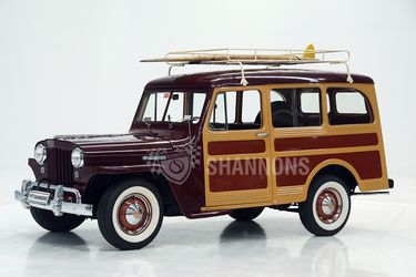 Willys Jeep Overland Station Wagon (LHD)