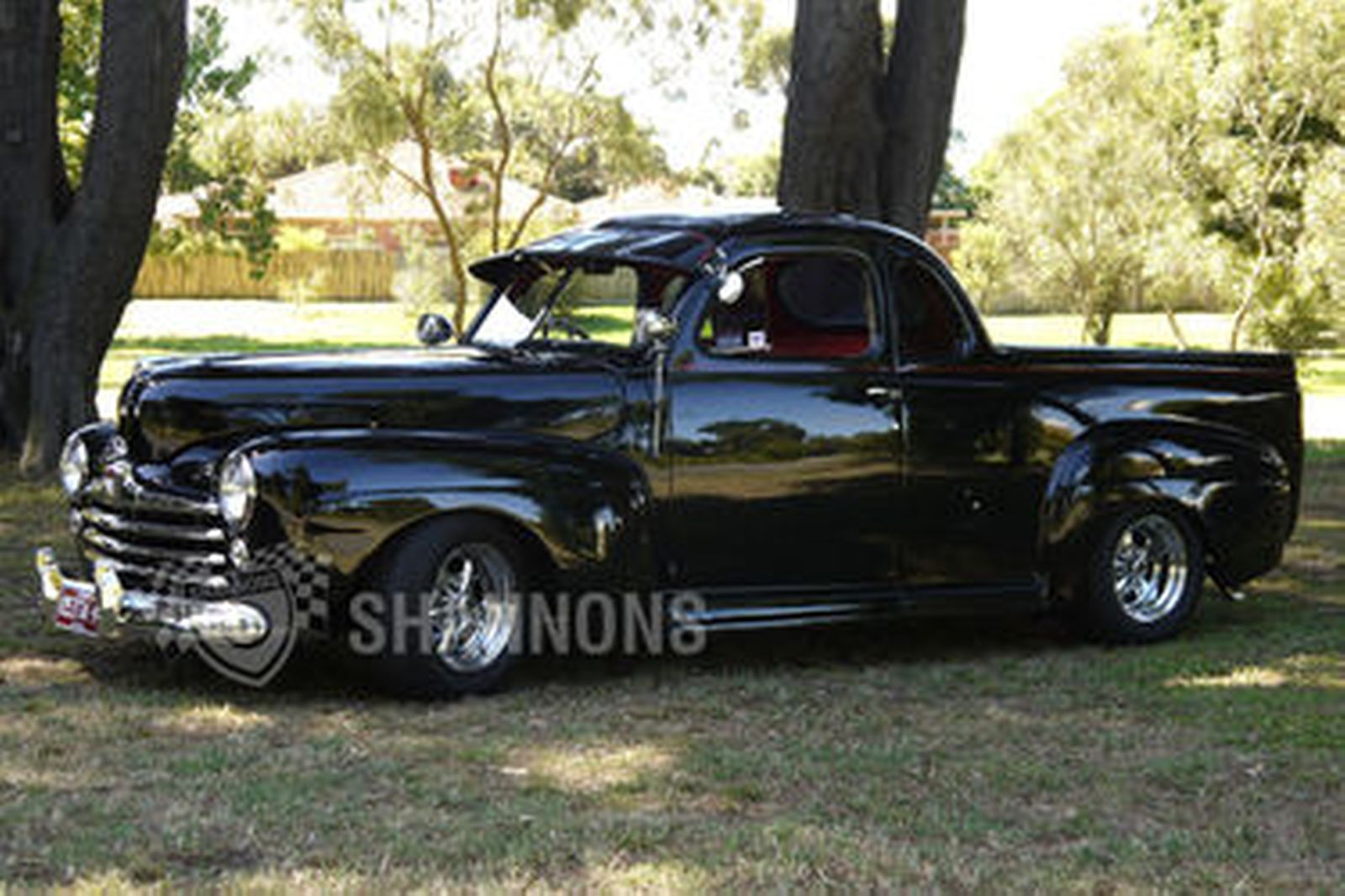1948 Ford Pickup Hot Rod Coupe Utility Rhd Auctions Lot 36 Shannons