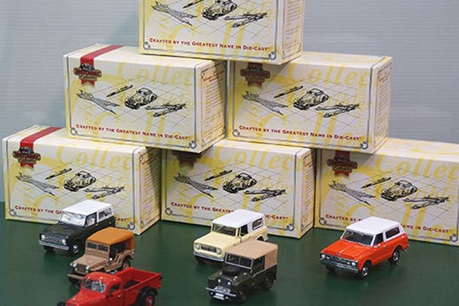 Model Cars x 6 - Matchbox Collectibles 4 x 4 Collection (Scale 1:43)