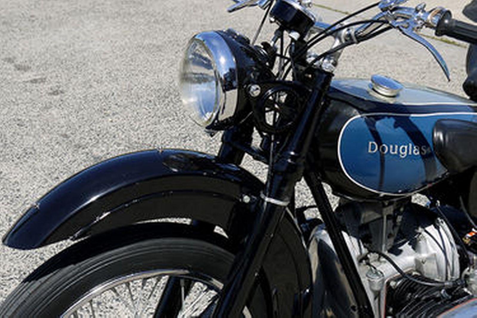 Douglas 350T Motorcycle
