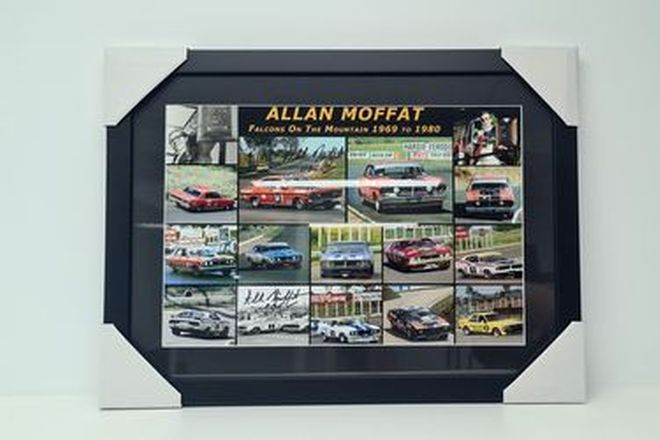 Allan Moffat. Bathurst Falcons at the Mountain, Print (435H x 570W)