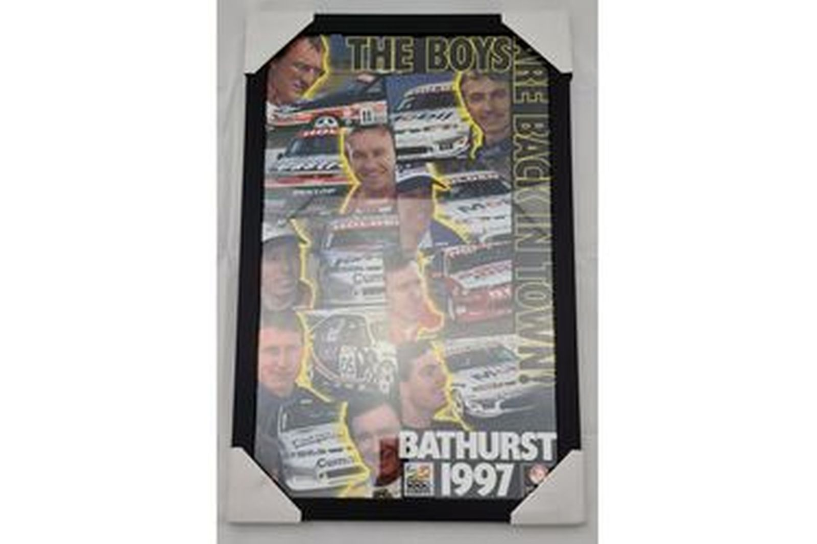 'The boys are back in town' Bathurst 1997 Framed Poster (470W x 730H)