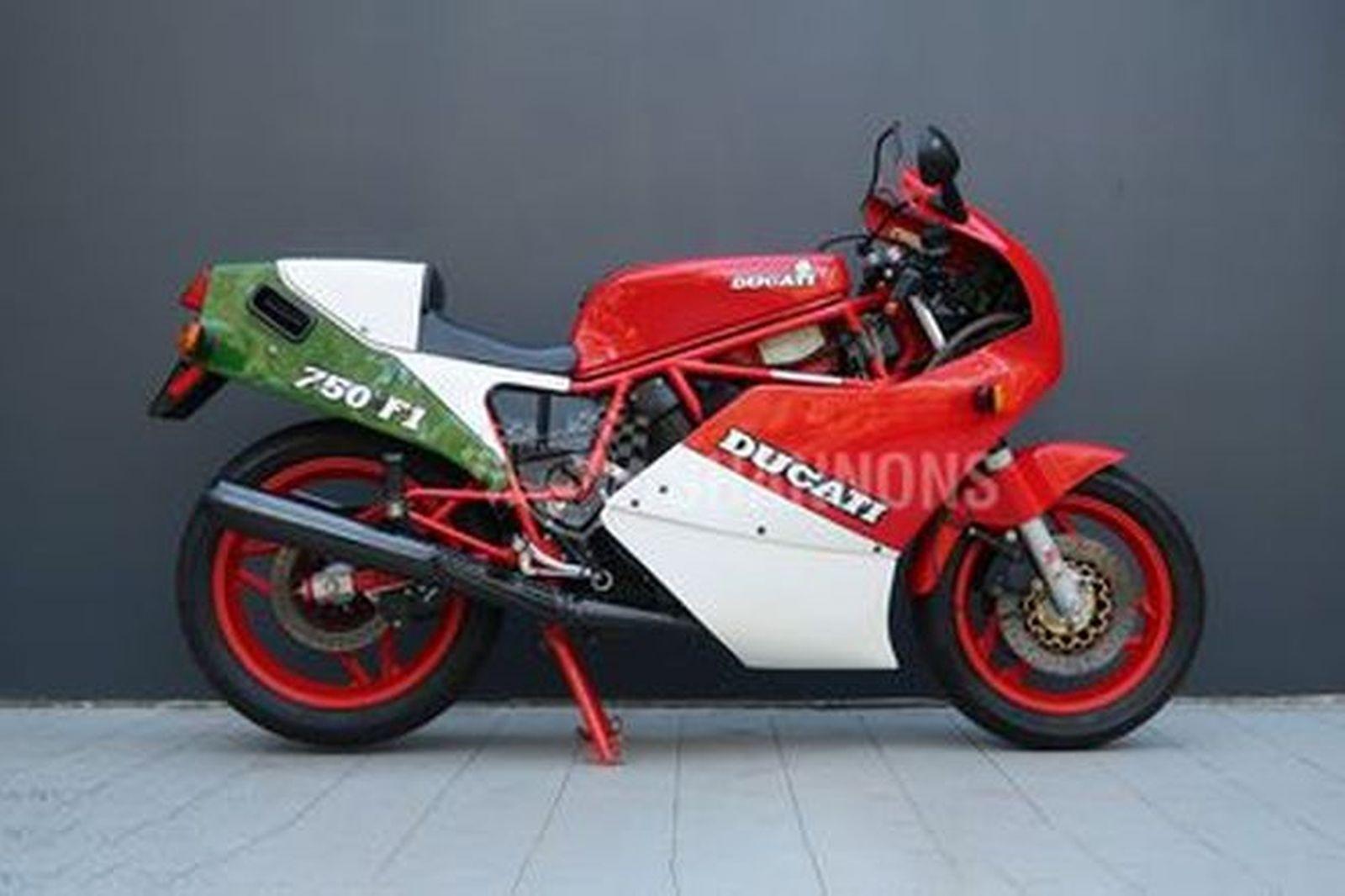 Ducati 750F1 Motorcycle