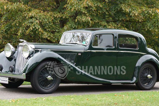 Jaguar Mk IV 3.5 Saloon