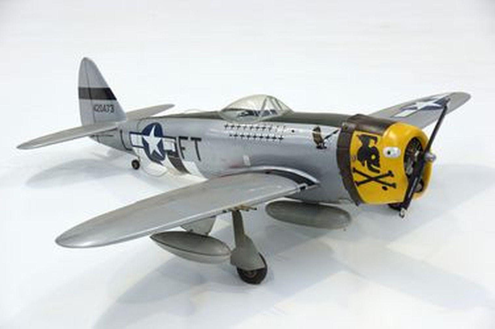 Thunderbolt Model Plane with motor & servos (160cm wingspan)