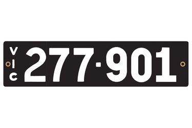 Victorian Heritage Plate '227-901'