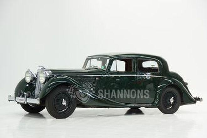 Jaguar MKIV 3.5 Saloon - From the 'Ian Cummins Collection'